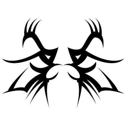 Tribal Tattoo Graphics Free Vector
