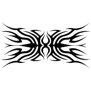 Tribal Tattoo Vp Free Vector