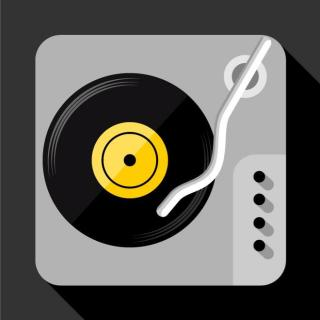 Turntable Icon Free Vector