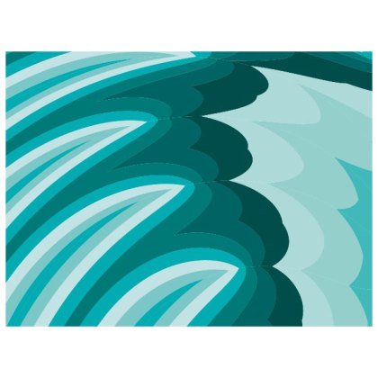 Turqouise Abstract Background Free Vector