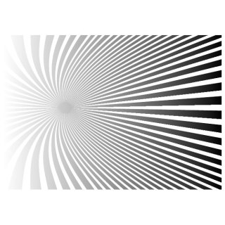 Twisted Sunbeam Free Vector