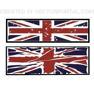 Union Jack Grunge Free Vector