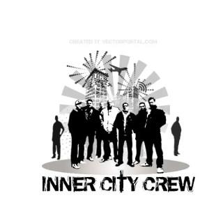 Urban Crew Free Vector