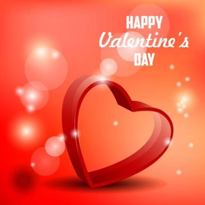 Valentine Day Design Free Vector