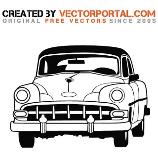 Vintage Car Stock Image Free Vector