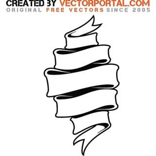 Vintage Ribbon Image Free Vector