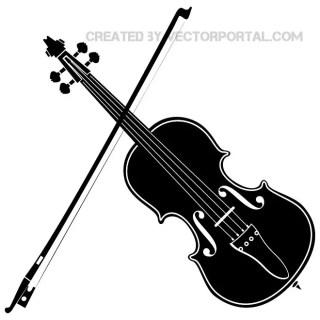 Violin Image Free Vector