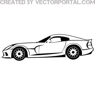 Viper Dodge Car Image Free Vector