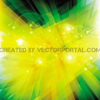 Vivid Abstract Background Free Vector