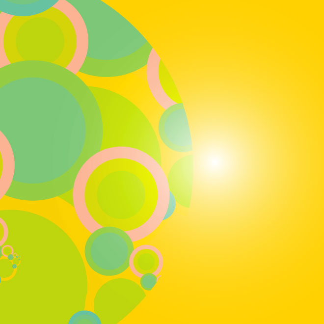 Vivid Yellow Background Free Vector