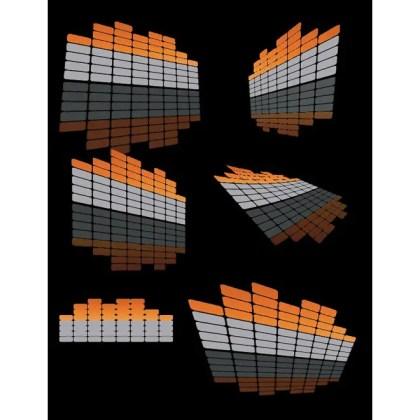 Volume Design Elements Free Vector
