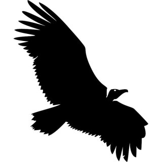Vulture Silhouette Free Vector