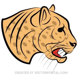 Wild Cat Free Vector