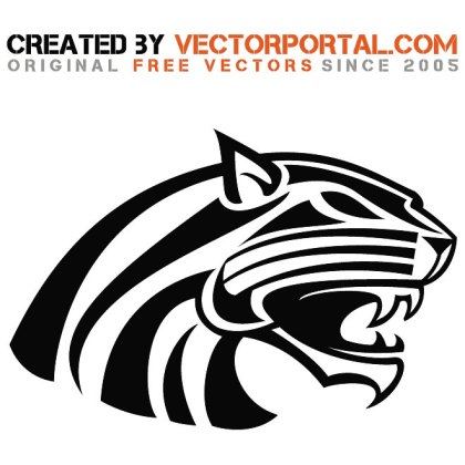 Wild Cat Image Free Vector