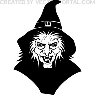 Witch Image Free Vector