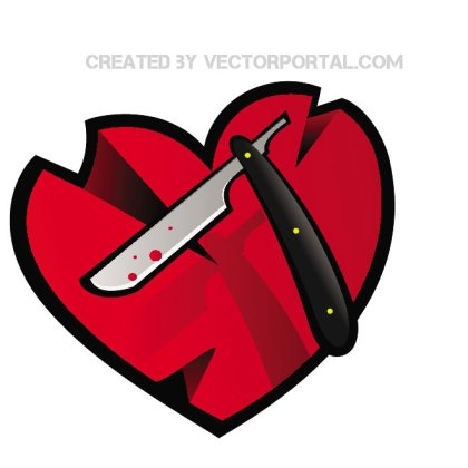 Wounded Heart Free Vector