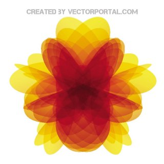 Yellow Abstract Free Vector