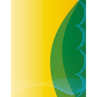 Yellow Green Background Free Vector