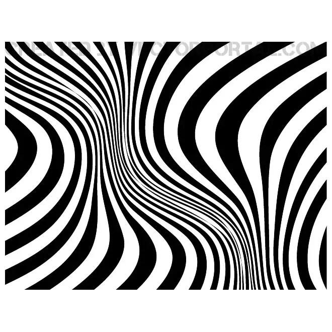 Zebra Skin Background Free Vector