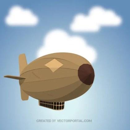 Zeppelin Image Free Vector