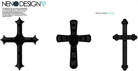 Cross sign free vector