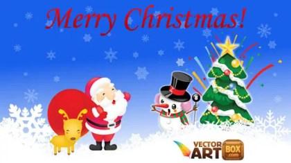 Free Christmas Vectors