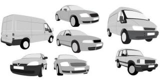 Car and van free vector