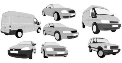 Car and van free vector