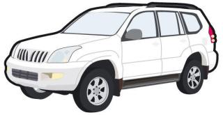 Toyota car free vector