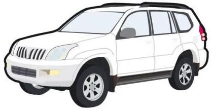 Toyota car free vector