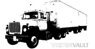 Trucks free vector