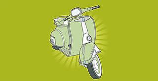 Scooter Vector Free Download