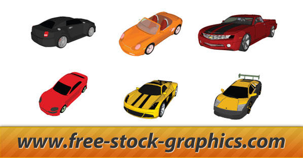 Vector Cars Free Set