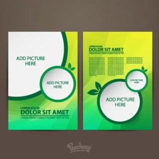 Brochure Free Vector