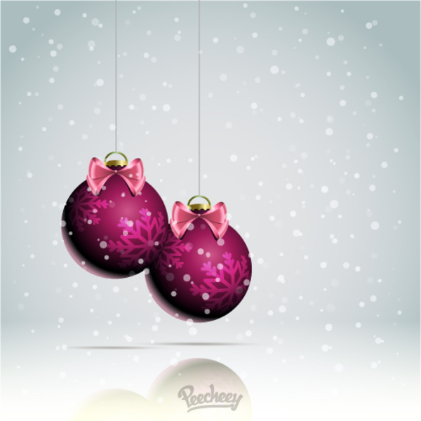 Christmas Celebration Background  Illustration Free Vector