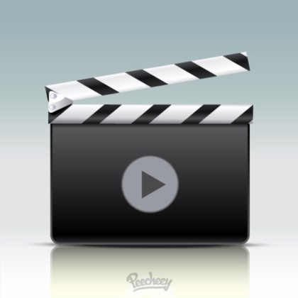 Cinema Board Free Vector