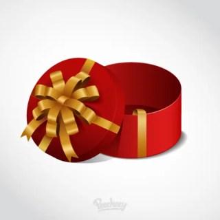 Gift Box Free Vector