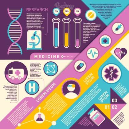 Health/Medical Infographic Free Vector