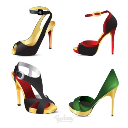 High Heels Free Vector