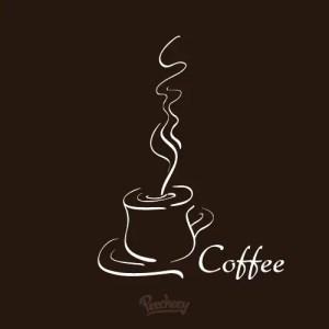 Hot Coffee Illustration Free Vector