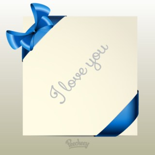 I Love You Note Illustration Free Vector