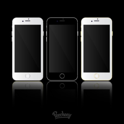 Iphone 6 Template Free Vector