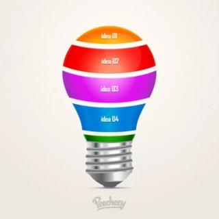 Light Bulb Illustrations Free Vector