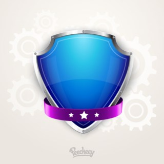 Protection Shield Free Vector