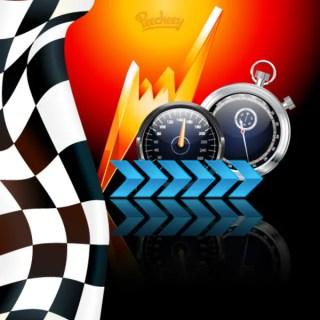 Racing Poster Free Vector