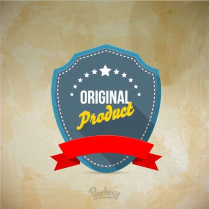 Retro Sticker Free Vector