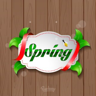 Spring Has Arrived Free Vector