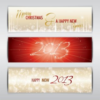 2013 Banners Free Vector