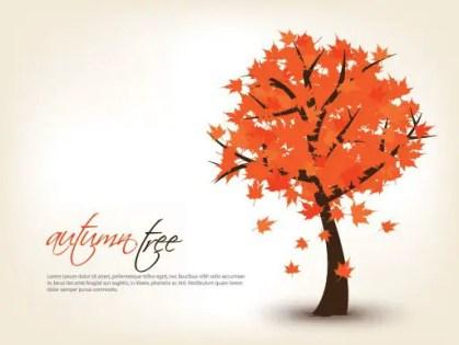 Autumn Tree Free Vector