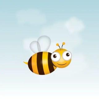 Bee Free Vector